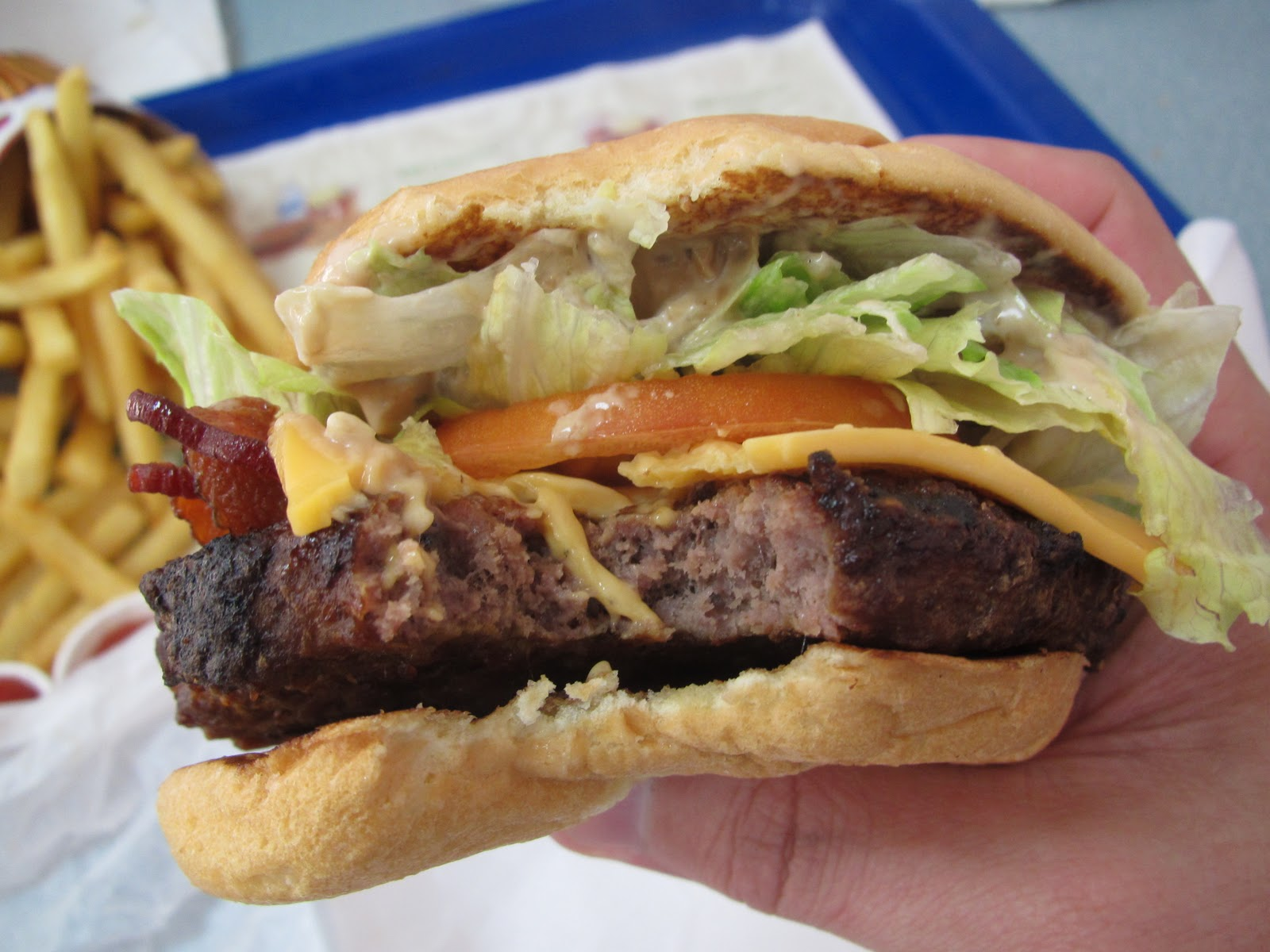 an article regarding the burger kings and mcdonalds rib food Burger king is looking to expand its realm the fast food chain is debuting a summer barbecue menu, featuring a rib sandwich that may lure some mcdonald's fans away from the cult-favorite mcrib.