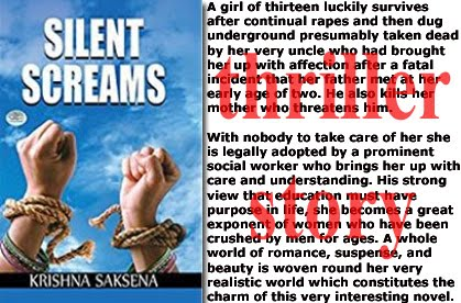 Novel by Dr. Krishna Saksena