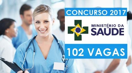 Apostila Concurso Ministério da Saúde 2017