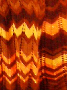 Pink Calico: lurex zig-zag