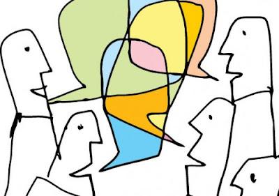 Sharing ideas graphic