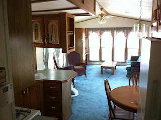 Rental Trailer / Cabin at Bare Oaks Family Naturist Park