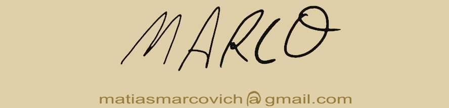 blog matias marcovich