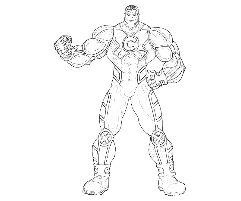printable-marvel-ultimate-alliance-2-colossus-skecth_coloring-pages