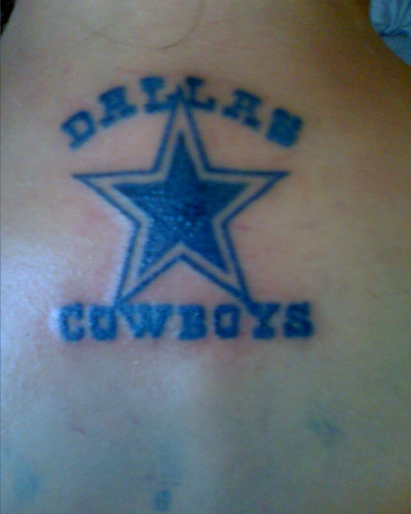 tattoos designs art dallas cowboy tattoo. Black Bedroom Furniture Sets. Home Design Ideas