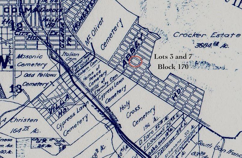 San Mateo County Genealogy Blog San Mateo County Cemeteries Sunset