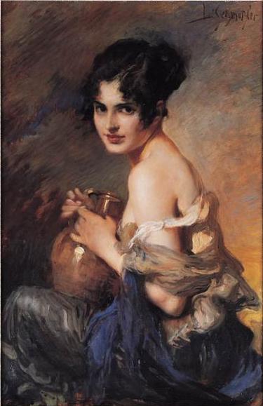 Leopold Schmutzler 1864-1941 | Bohemian Art Déco painter