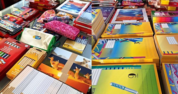 Schulkreide, Farbmaler, Zeichengarnituren, Zeichenmappen und Federmappe, Stylex Schreibwaren