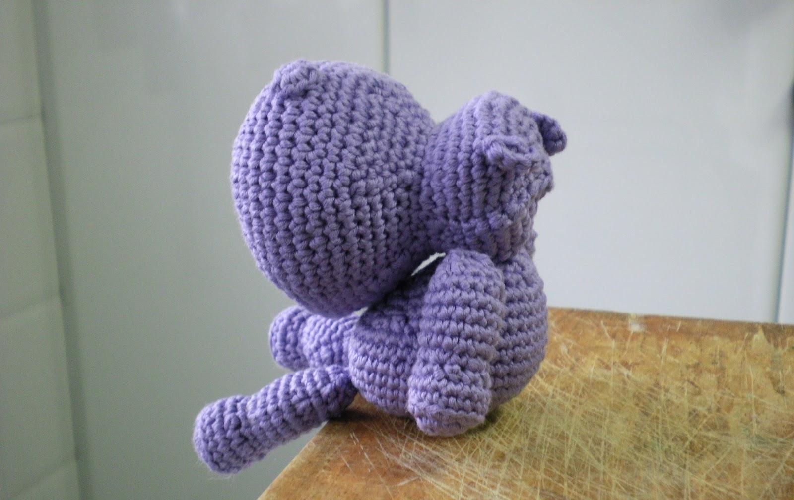 maia_knit: Hipopótamo