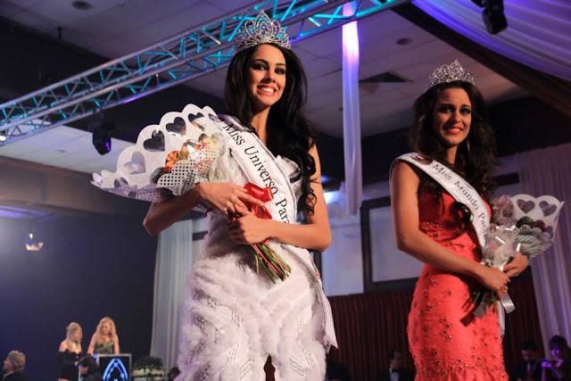 Miss Nuestra Belleza Paraguay 2013 Maria Guadalupe Gonzalez Talavera & Coral Ruiz Reyes