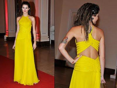 Dicas em imagens de Vestidos de Amarelos