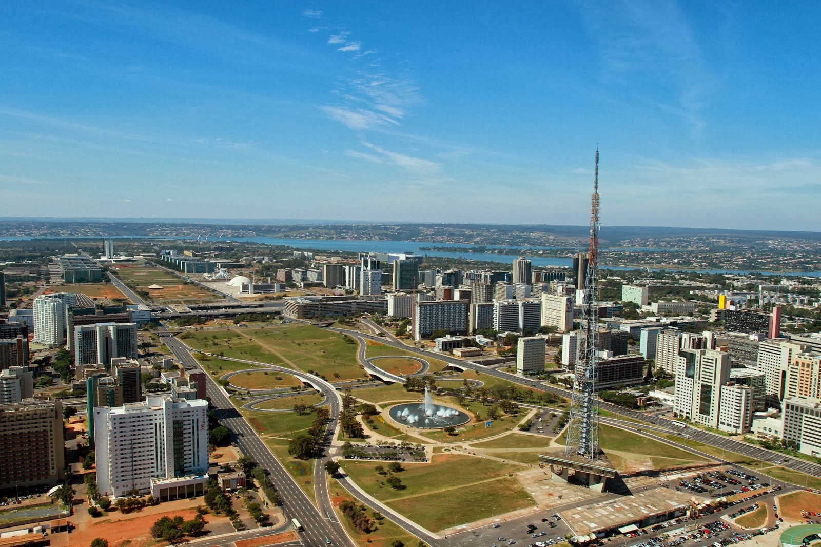 Panorámica de Brasilia, Brasil