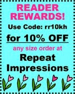 10% OFF AT REPEAT IMPRESSIONS!