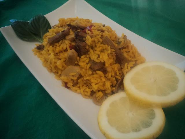 arroz con carne alba hogar