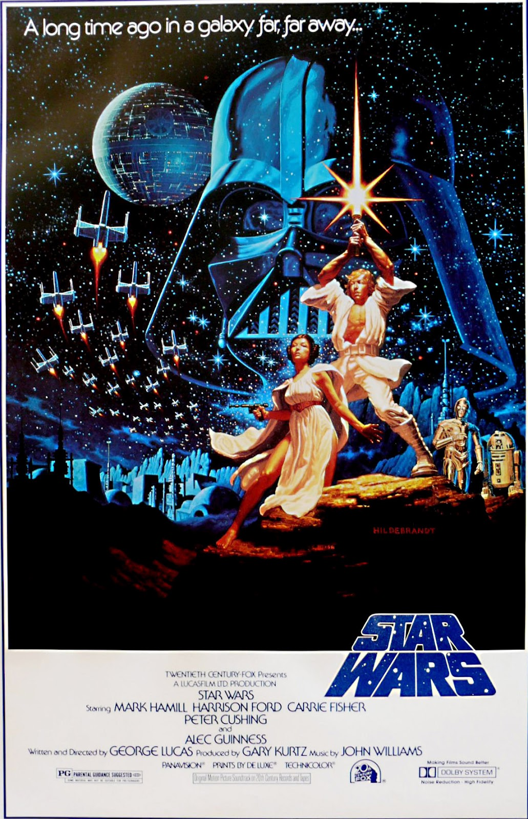 the geeky nerfherder movie poster art star wars 1977. Black Bedroom Furniture Sets. Home Design Ideas