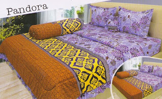 sprei Lady Rose Pandora