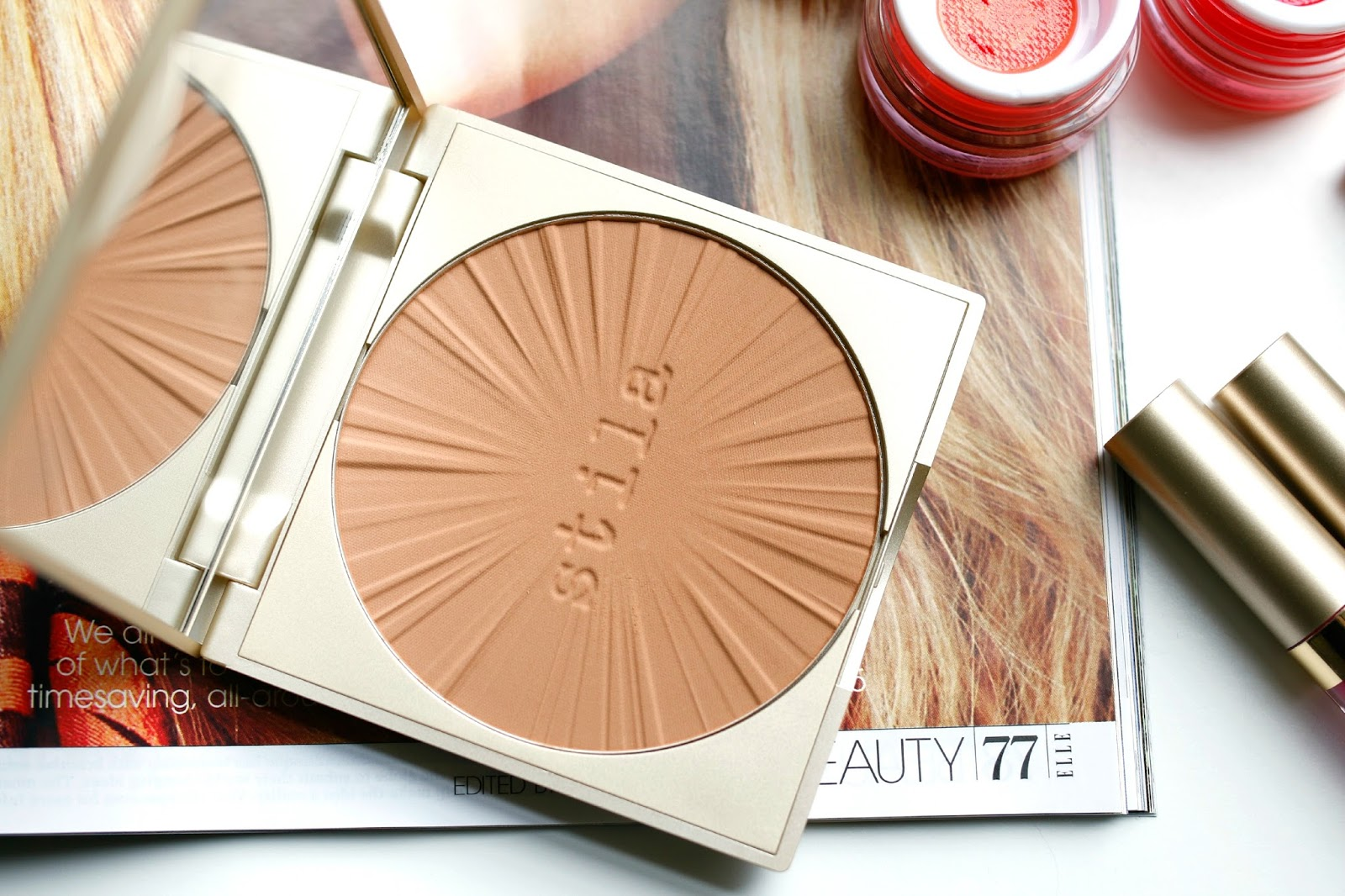 Stila bronzer for fair skin