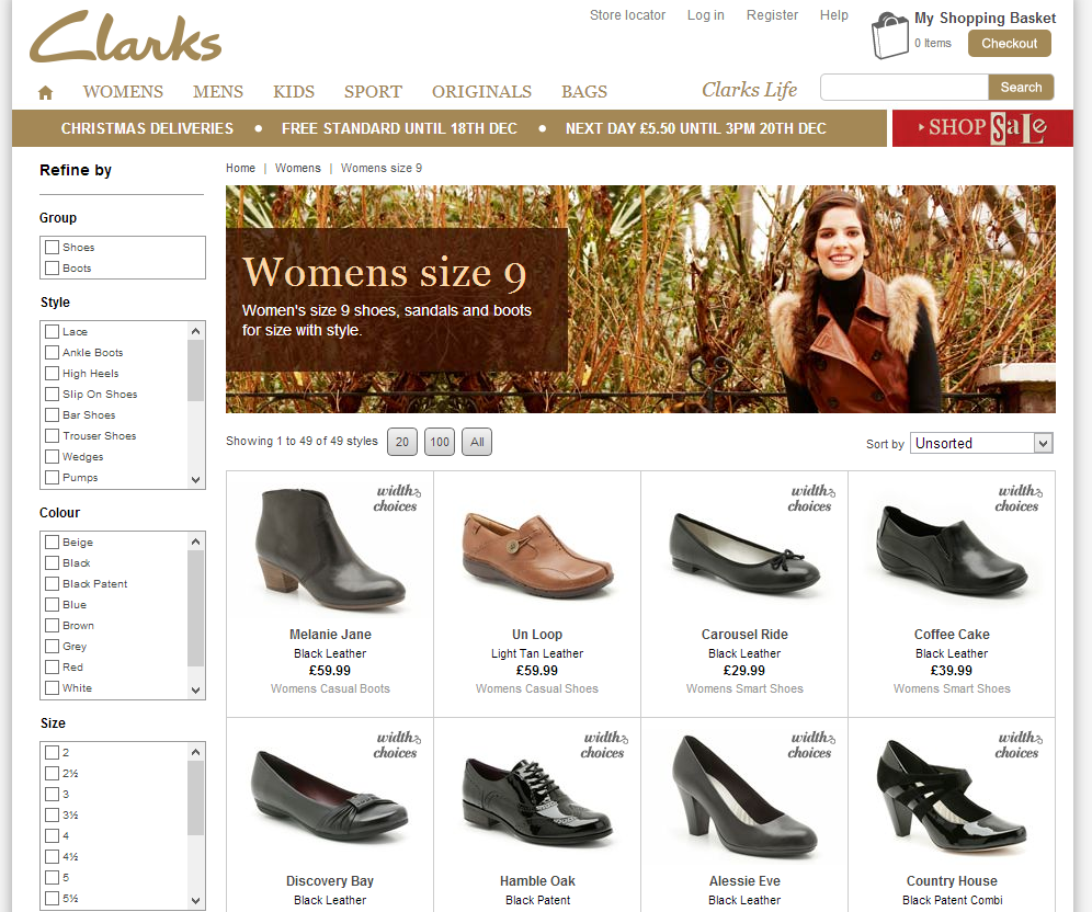 Photobrook Photography: Womens size 9 shoes