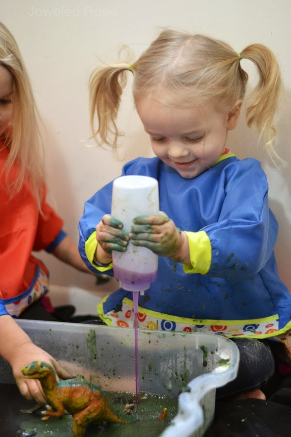 FIZZY MUD-  easy to make and SO FUN!
