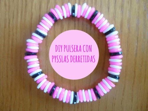 Pulsera con Pysslas derretidas