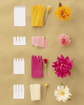 DIY - Bunga Crepe Paper ::