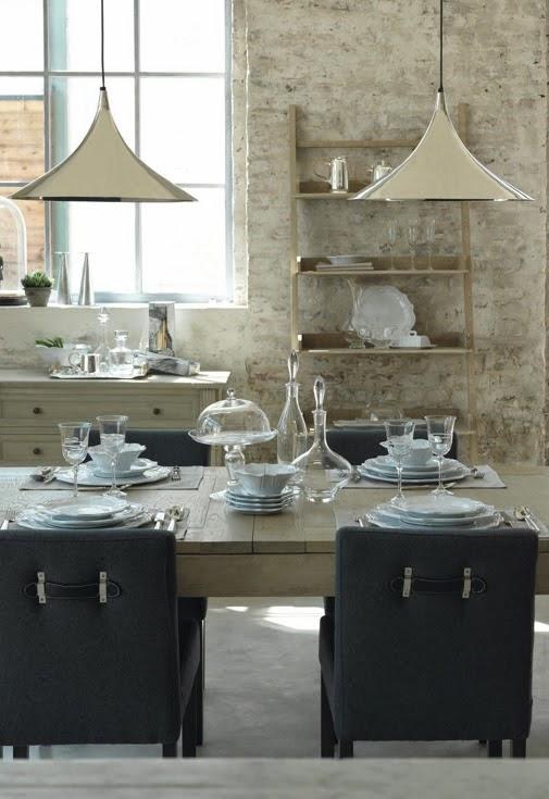 vision d co by sofia chez blanc d 39 ivoire les salles manger. Black Bedroom Furniture Sets. Home Design Ideas
