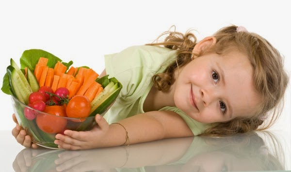 Make Habit of Vegetables for children