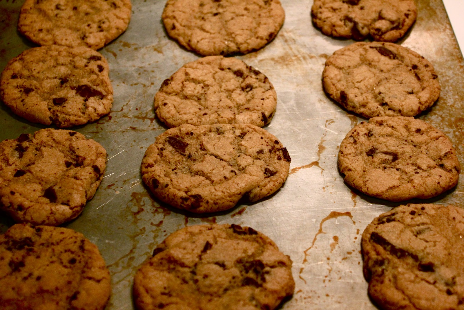 Cook, the Namesake: Sea Salt and Dark Chocolate Chip Cookies