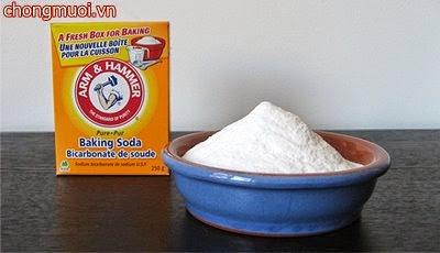 Giảm ngứa nhanh với bột nở khi bị muỗi chích