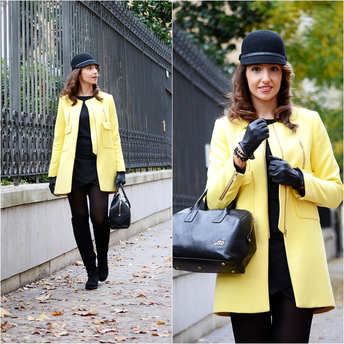 el blog de silvia-Yellow coat