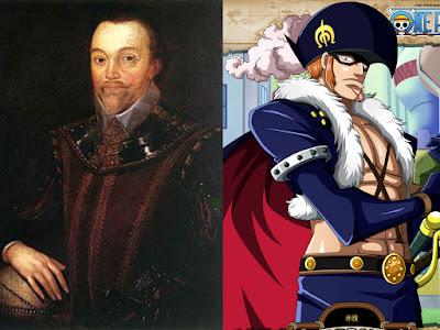 Sir Francis Drake, Sosok Bajak Laut dibalik karakter X-Drake