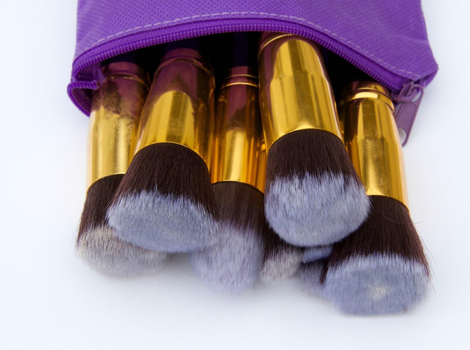 bellange makeup brush set review