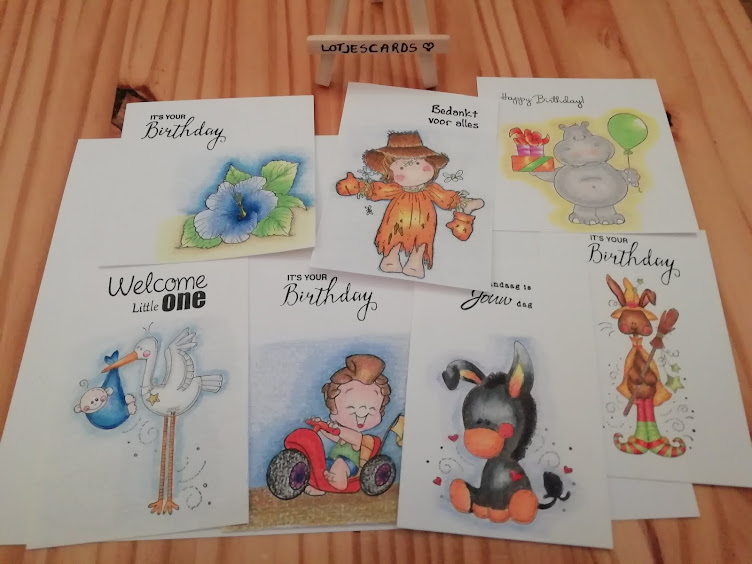 Lotjescards en creaties