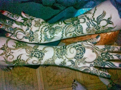 Bridal Mehndi Designs for wedding day