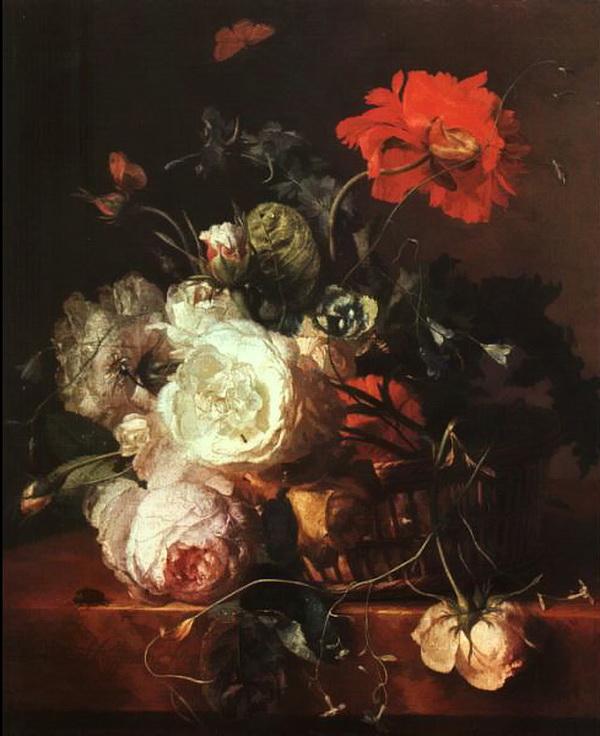 Juan de Arellano, bodegónes de flores