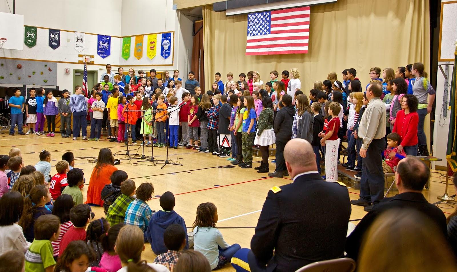 Shoreline Area News: Parkwood Elementary holds Veteran's ...