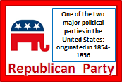 Republican Party, Illustrated Definitions of Election Terms