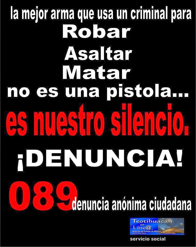 Teotihuacan en l nea marzo 2014 Numero telefonico del ministerio del interior