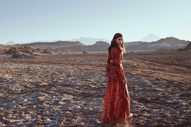 Sabina Lobova in Vogue Mexico & Latin America