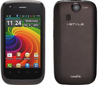 ข้อมูลทั่วไป i-mobile i-STYLE Q2 - ไอโมบาย i-STYLE Q2