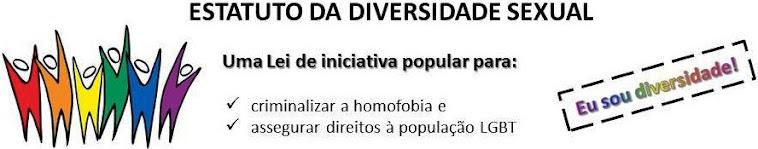 Clique na imagem abaixo para acessar a petição pública do Estatuto da Diversidade Sexual e assine!