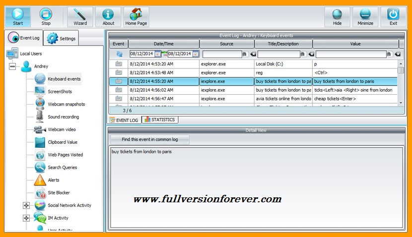 winspy keylogger free download full version with crack