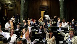 Votación de leyes pacto PRO-K
