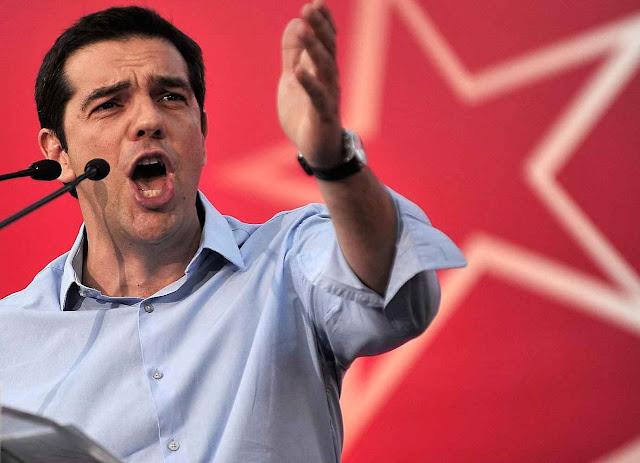 Símbolos e linguajar marxista voltaram ao centro do cenário europeu com a crise grega. Alexis Tsipras, primeiro ministro grego.