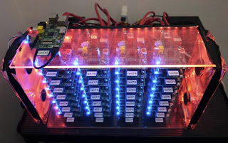 New 32-way Raspberry Pi cluster