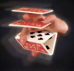 Tally Ho Card Flourishes ตัดไพ่ สวยงาม ไพ่ป๊อก
