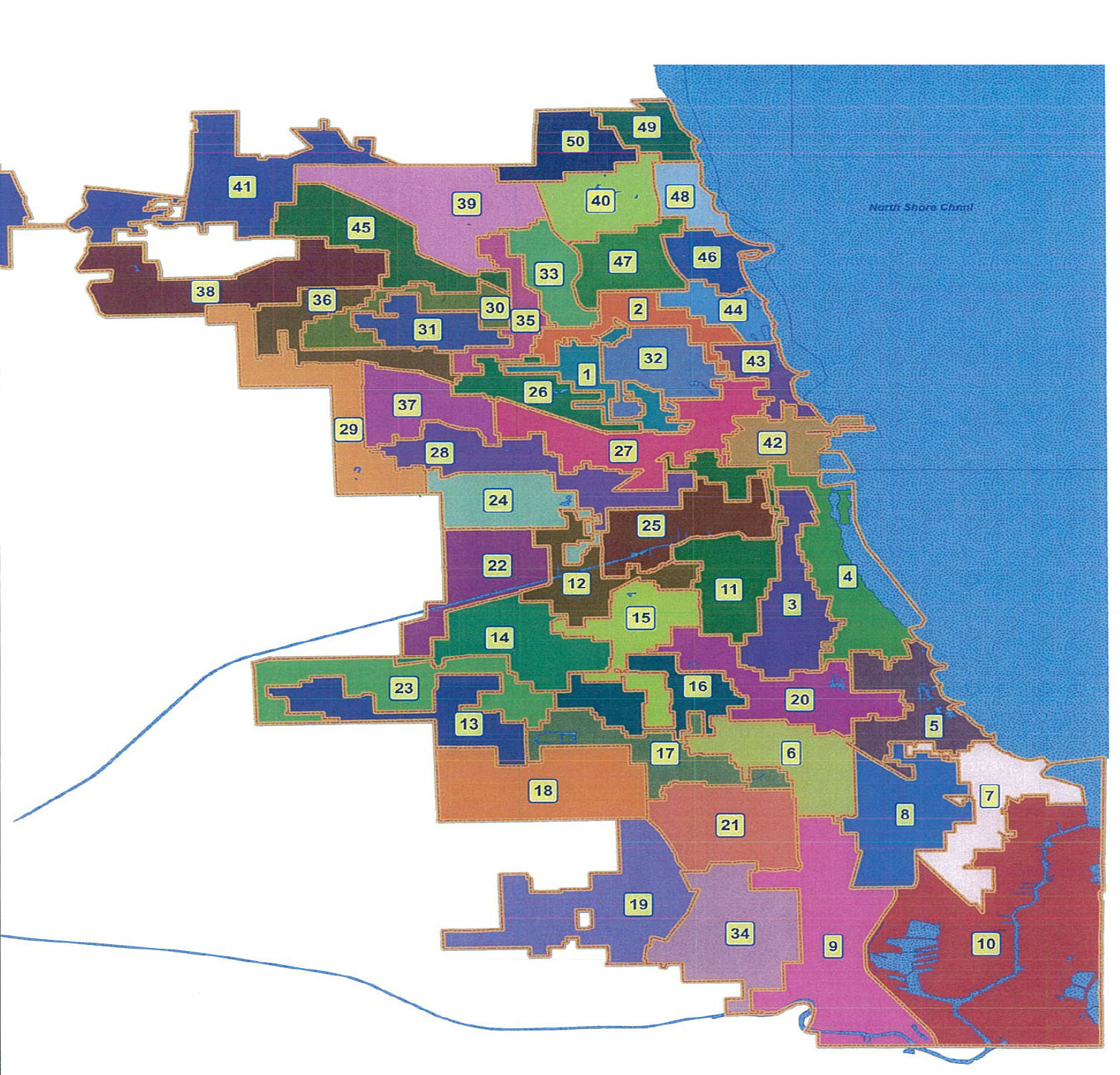 The Sixth Ward - Chicago map safety