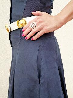 foto detalle bolsillo vestido Isabel de Pedro