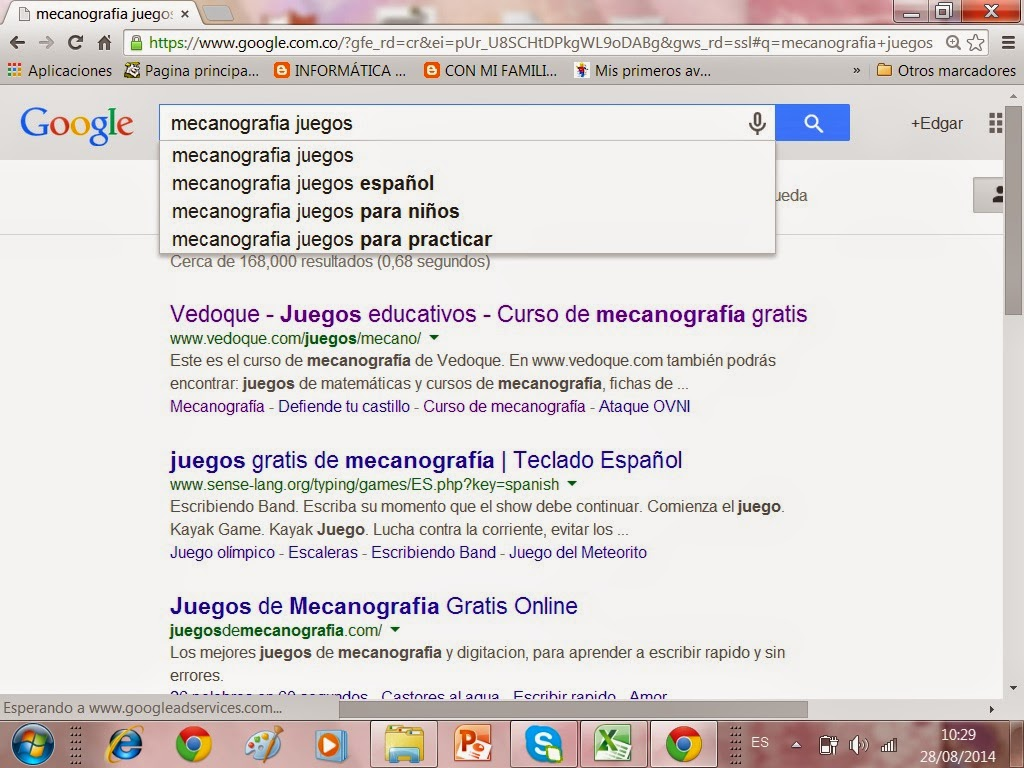 google curso mecanografia:
