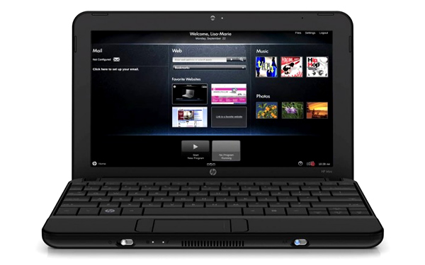Netbook HP HD 720p